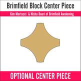 Pappersmallar till mittendelen av Brimfield