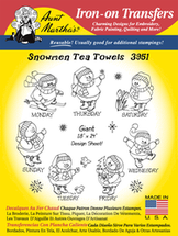 Snowmen Tea Towels