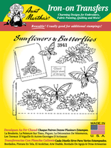 Sunflowers & Butterflies