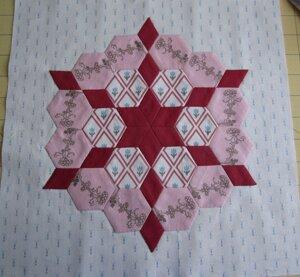 Quilt Passion Sampler, Block 1