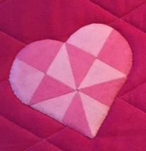 Ficka till iPad eller Malltabell, med hjärtmallar