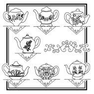 Floral Teapots