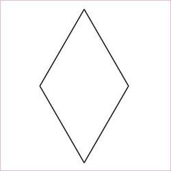 """1½"""" 6-uddig stjärna, pappersmallar"""