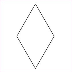 """1½"""" 6-uddig stjärna, skärmall"""